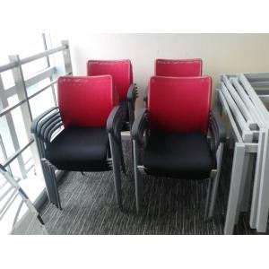 9.5成新网型会议椅