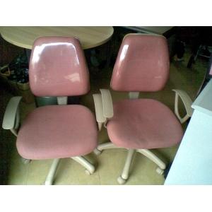 粉色电脑椅