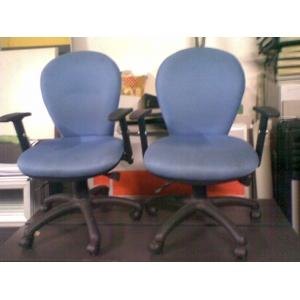 高档蓝色电脑椅
