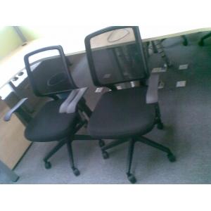 9成新黑色网型电脑椅