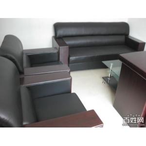 9.5成新皮革沙发
